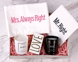 Mrs. & Mr. Right Set Hediye Kutusu